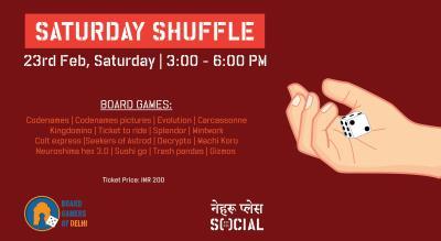 Saturday Shuffle