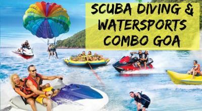 Goa Combo Scuba & Water Sports at Grande Island