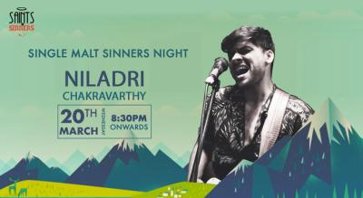 Single Malt Sinners Night with Niladri Chakravarti