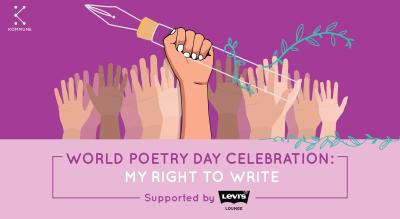Levi's® Lounge x Kommune Presents: World Poetry Day Special