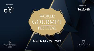 Third Annual World Gourmet Festival: 6 hand Brunch- Rohit Ghai/ Kirk Westaway / Anupam Gulati