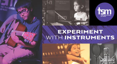 True School: Experiment with Instruments