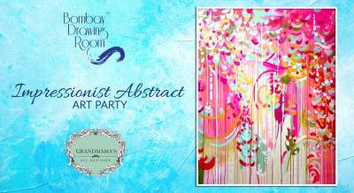Impressionist Abstract Art Party by Bombay Drawing Room