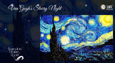 Van Gogh's Starry Night Painting Party by Bangalore Drawing Room