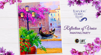 Reflection of Venice Painting Party by Bangalore Drawing Room