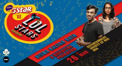 5 Star Ke LOLStars ft Biswa Kalyan Rath and Niveditha Prakasam, Goa