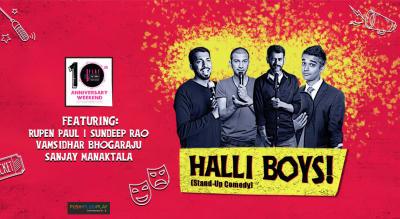BFlat Turns 10! HALLI BOYS! | Stand-Up Comedy
