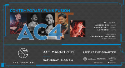 Contemporary Funk Fusion with AC4 at The Quarter