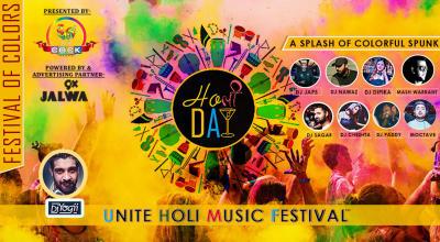 Holi-Day Unite Holi Music Festival