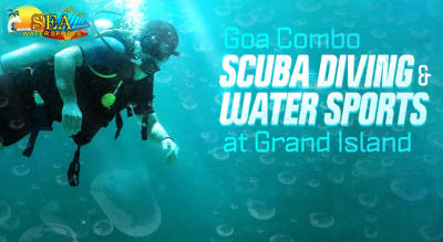 Scuba Diving with 5 Water Sports at Grande Island (Combo)