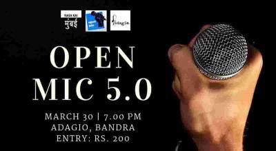 Open Mic 5.0 at Adagio Bandra