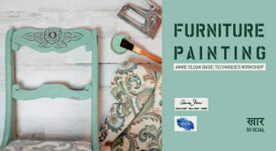 Furniture painting - Annie Sloan basic techniques workshop