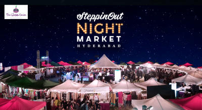 The SteppinOut Night Market | Hyderabad