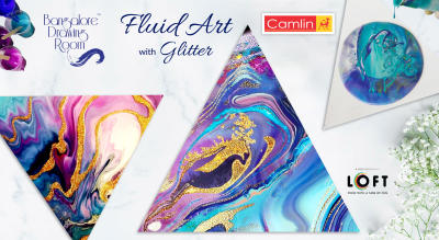 Fluid Art with Glitter by Bangalore Drawing Room