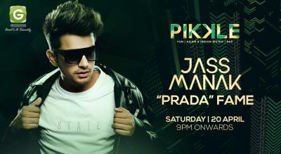 Jass Manak Prada Fame Live @ Pikkle, Pusa Road