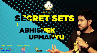 LVC Presents Secret Sets Ft. Abhishek Upmanyu