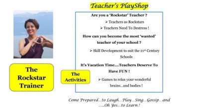 Workshop & PlayShop for Teachers