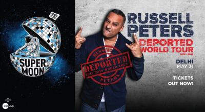 Supermoon ft. Russell Peters Deported World Tour, Delhi