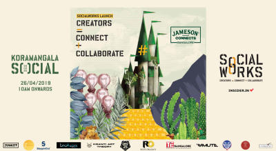 Creators = Connect+Collaborate | SocialWorks - Launch | #Work x #Play