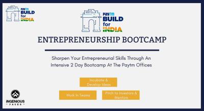 Paytm - Build For India Entrepreneurship Bootcamp