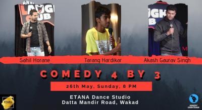 Comedy 4 by 3 ft. Sahil, Tarang & Akash