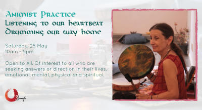 Animist Practice Open Workshop Drumming Our Way Home