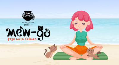 Mew-Ga 2.0 : Yoga With Cats