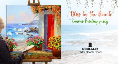 Canvas Painting Party – 'Bliss by the Beach