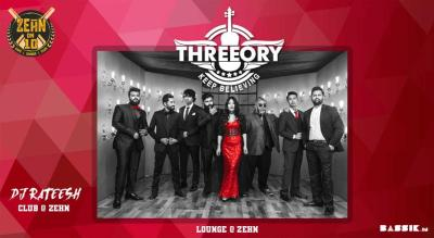Threeory Live at the Lounge in Zehn | Every Sunday