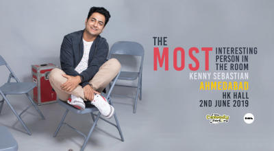 The Most Interesting person in the room- Kenny Sebastian, Ahmedabad
