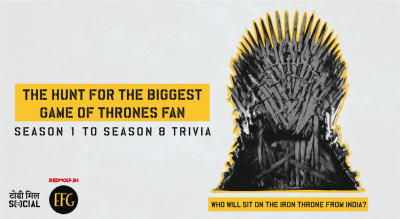 Who will sit on the Iron Throne from India - The Hunt for the Biggest Game of Thrones Fan