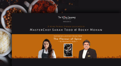 The Flavor of Spice Popup by Sarah Todd and Rocky Mohan