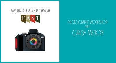 Master Your DSLR Camera FAST photo workshop for beginners with Girish Menon