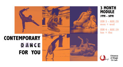 3 Month Contemporary Dance Module