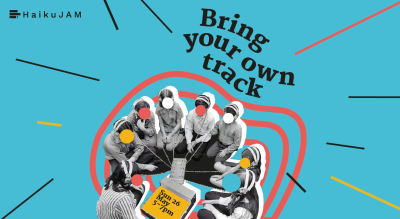 Bring Your Own Track - a collaborative listening session by HaikuJAM