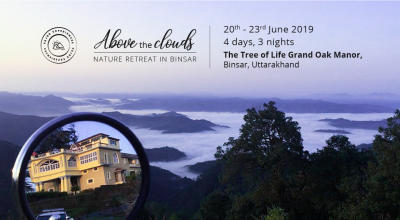 Above the Clouds- Nature Retreat in Binsar