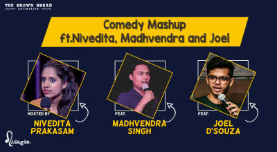 Comedy Mashup ft.Nivedita, Madhvendra and Joel