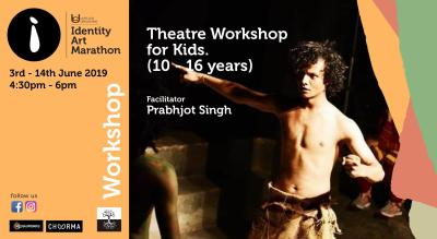 Theatre Workshop for Kids (10-16 yrs)