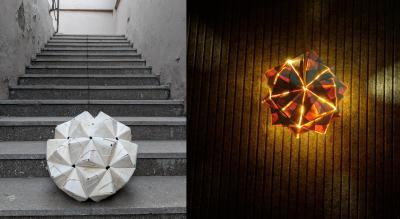Origami Lamp making Workshop by Aditi Anuj