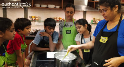 Authenticook presents Cooking Class for Kids