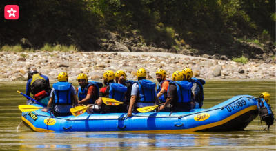 Rishikesh Rafting- Brahmpuri to NIM Beach