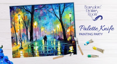 Palette Knife Painting Party by Bangalore Drawing Room