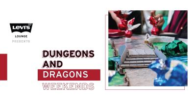 Levi's Lounge presents PanicNot's D&D Weekends