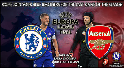 Chelsea v Arsenal   Europa League Final Screening
