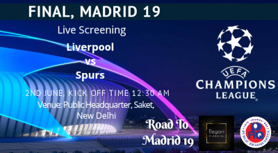 Live Screening Uefa Champions League Final Liverpool Vs Tottenham