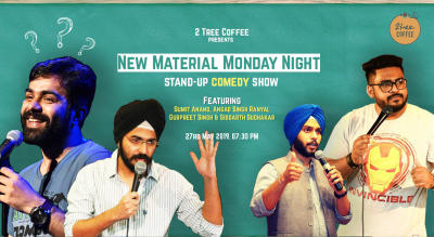 New Material Monday Night Ft. Sumit Anand & Angad Singh Ranyal