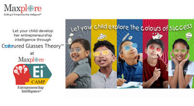Maxplore Ei Camp - Problem Solving, Idea Creation & Business Idea Evolution for Young Students