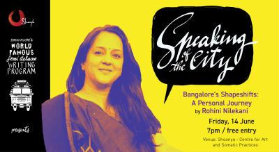 Speaking Of The City With Rohini Nilekani