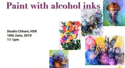 Paint with Alcohol Ink