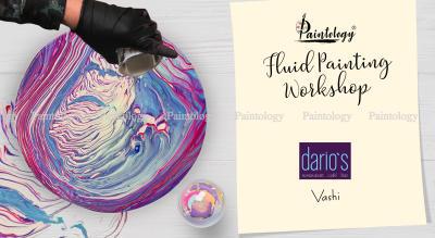 Fluid Painting workshop, Vashi by Paintology